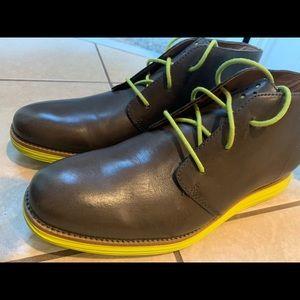 Cole Haan Original Grand Leather Chukka Boots